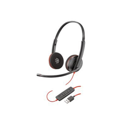 209745-201_R2 - Poly Blackwire C3220 USB - 3200 Series - headset - on-ear - wired - USB - noise isolating 209745-201_R2